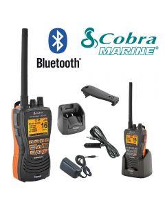 COBRA MR HH600 FLT BT EU Version Bluetooth Handheld VHF Marine LCD Submersible Floating Radio