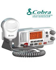 COBRA MR-F57W E Fixed Marine VHF Radio UK Specification & Chanels 2 Way Boat - WHITE