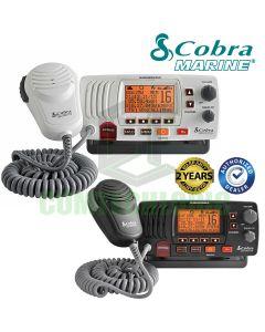 COBRA MR-F57B E Fixed Marine VHF Radio UK Specification & Chanels 2 Way Boat - BLACK