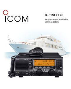 Icom IC-M710 Advanced Long Range 150W MF/HF SSB Marine Radio