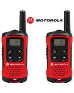 4Km Motorola TLKR T40 Walkie Talkie 2 Two Way PMR 446 Compact Radio Set - Twin